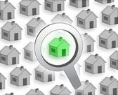 Buy a house — Stock Photo