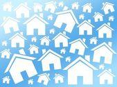 Houses buy background — 图库照片