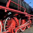 Stock Photo: Old steam train