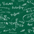 Royalty-Free Stock Photo: Green math school blackboard