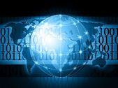 Global information — Stock Photo