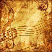 Vintage music illustration — Stock Photo