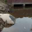 Concrete culvert - Stock Photo