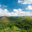 Chocolate hills, philippines — Stock Photo #7809186