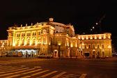 Mariinsky Theatre, St Petersburg, at night — Stock Photo