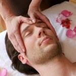 Facial massage — Stock Photo #7603015