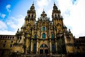Katedra w Santiago de Compostela — Stock Photo