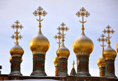Russian orthodox church — Stockfoto