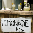 Stock Photo: Lemonade Stand