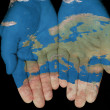 Stock Photo: Europe In Our Hands