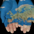 Europe In Our Hands — Stock Photo