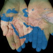 Royalty-Free Stock Photo: Middle East In Our Hands