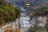 The Middle Falls At Letchworth State Park — Stock Photo