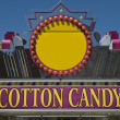 Stock Photo: Cotton Candy Sign