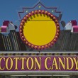 Cotton Candy Sign — Stock Photo