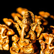 Ganeshon black background — Stock Photo #7668910