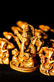 Ganesha on black background — Stock Photo