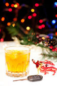 Don't drink and drive during festive season — Stock Photo