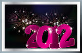 New 2012 year background. — Stock Vector