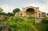 The ruins of Saint Nicola church at Melnik, Bulgaria. — Stock Photo