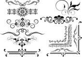 Decorative frame, border of ornament.Graphic arts. — Stock Vector