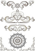 Decorative ornament border,frame. Banner — Stock Vector