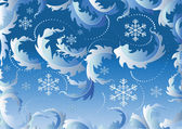 Bakgrund med snowflake.background. tapet. — Stockvektor