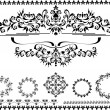 Decorative ornament border,frame.Graphic arts.Banner - Stock Vector