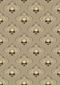 Light brown background with oriental ornaments. — Vetor de Stock