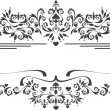 Ecorative ornament border,frame.Graphic arts.Banner - Stock Vector