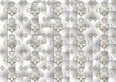 Background satin gray mosaic.Background.Wallpaper. — Stockvektor