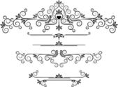 Decorative ornament border.Graphic arts. — Stock Vector