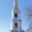 The bell tower of St. Nicholas Naval Cathedral in Saint Petersburg. — Stock Photo