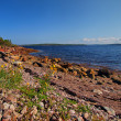 The coast of the White sea in Karelia. — Stock Photo
