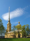 The Peter and Paul Fortress in St. Petersburg. — Stock Photo