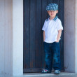 Portrait of a little stylish boy — Stock Photo #7798062