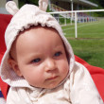 Baby Portrait — Stock Photo #7604906