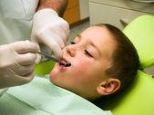 在牙科手术 — 图库照片