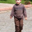 Stock Photo: Boy on the walk