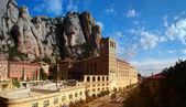 Benedictine monastery in Monserrat — Stock Photo