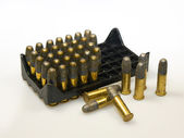 Smallbore cartridge — Stock Photo