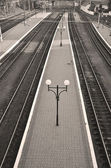 An empty platform — Stock Photo