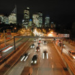 Night sydney traffic — Stock Photo