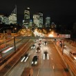 Stock Photo: Night sydney traffic