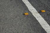 Road detail — Stock Photo