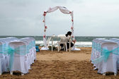 Beach weding — Stock Photo