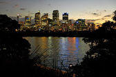 Sydney night scenery — Stock Photo