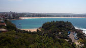 Manly beach — Stock Photo