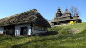 Old slovak village — Stock Photo