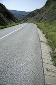 пустой дороге — Стоковое фото